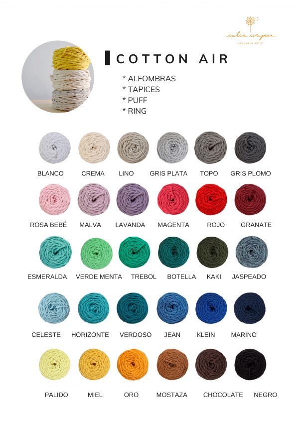 colores cotton air
