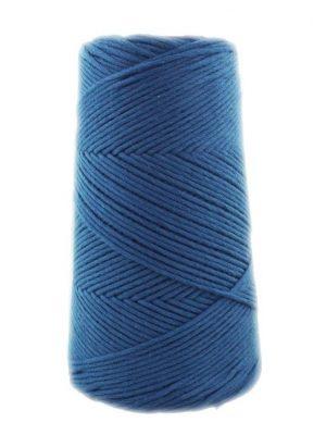 algodón peinado azul jean