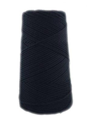 algodón peinado negro